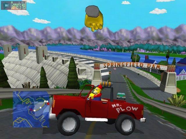 100. Simpsons Road Rage