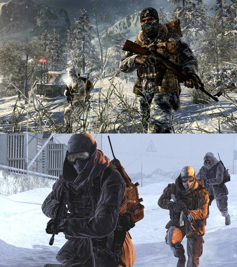 Black Ops vs Modern Warfare 2 Comparison - Call of Duty: Black Ops Forums