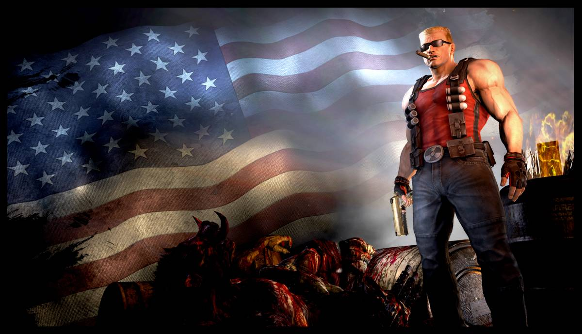 Duke Nukem delayed. It's not a joke.