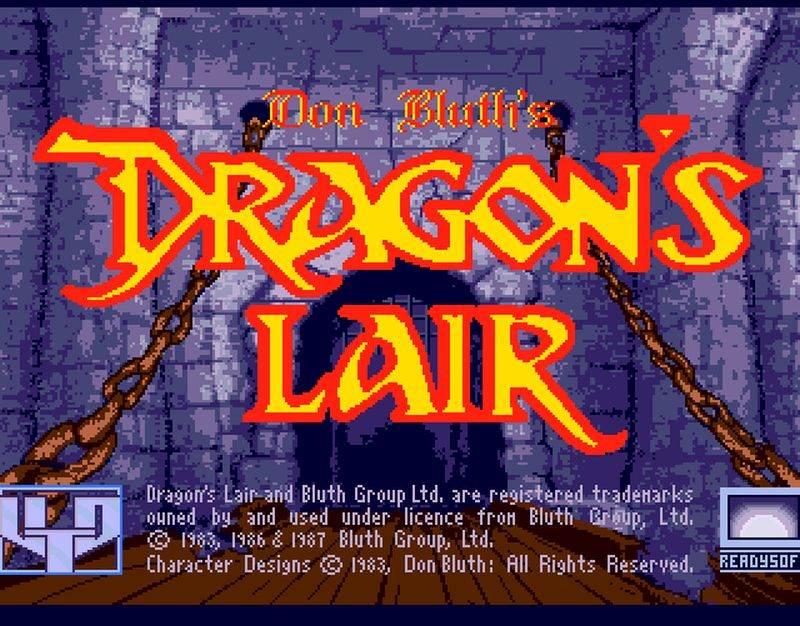 100-Dragon\'s Lair (1983)