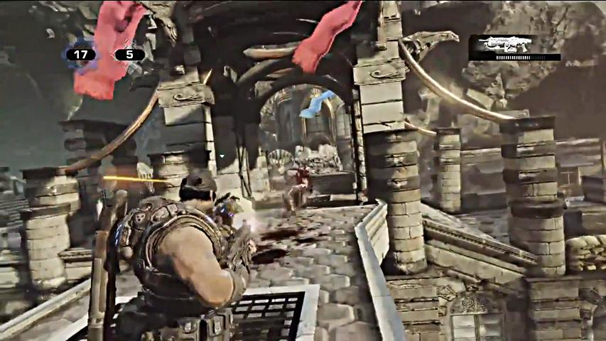 New gears of war 3 beta screens released 171 gamingbolt com video game