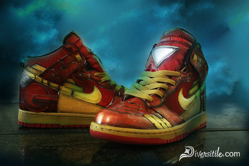 Stomping Out Crime with Iron Man Sneakers | The Mary Sue
