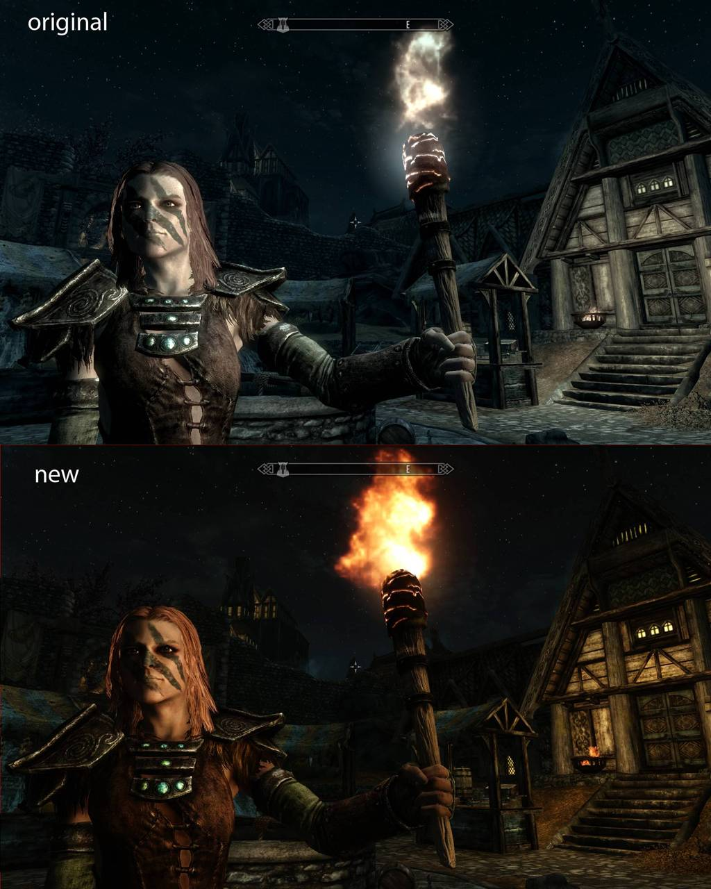 Latest Lighting and Realistic Colours mod for Skyrim Transforms the game