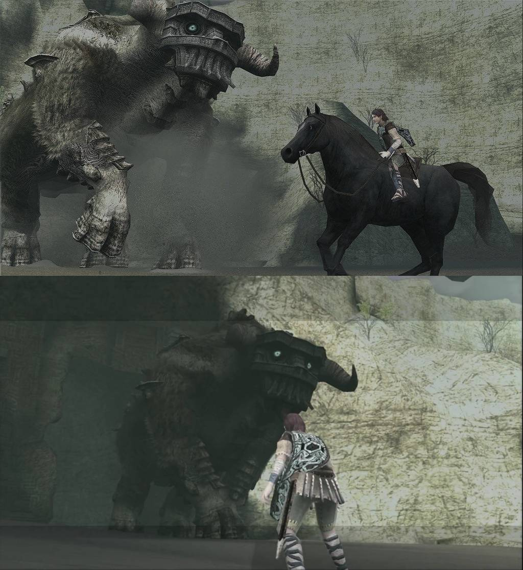 Shadow of the Colossus HD: PS3 vs PS2 Comparison ...