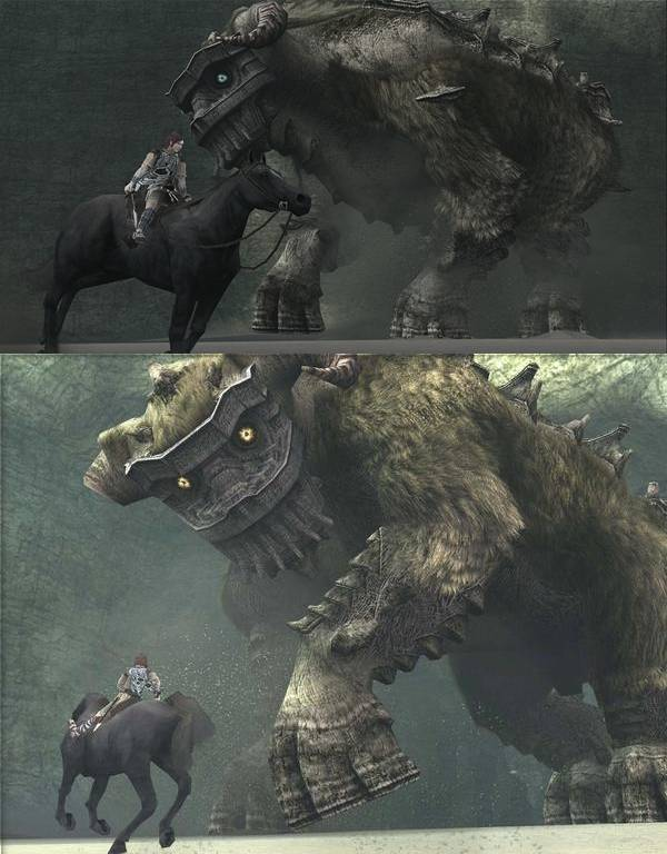 Shadow of the Colossus HD: PS3 vs PS2 Comparison | Page 4