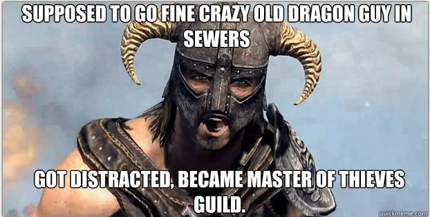 Funny Xbox Memes : Skyrim: 10 of the most funny memes [pics] « video game news