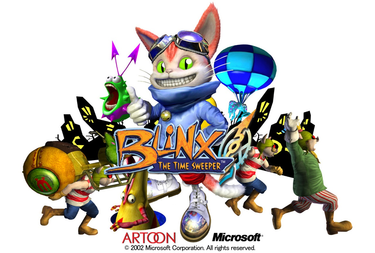 Blinx – Blinx the Time Sweeper