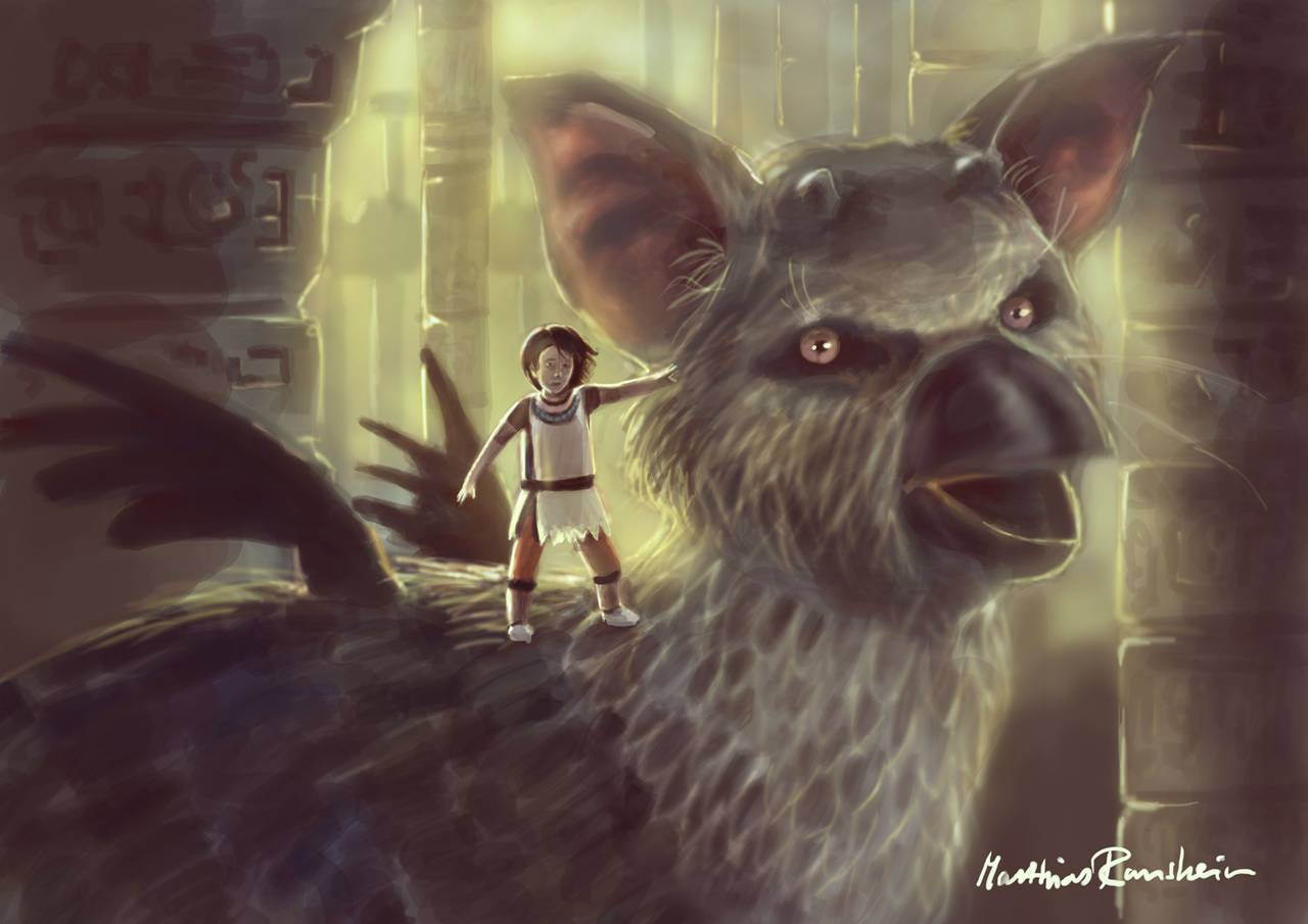 The Last Guardian Fan Made Wallpapers In Hd Page 3