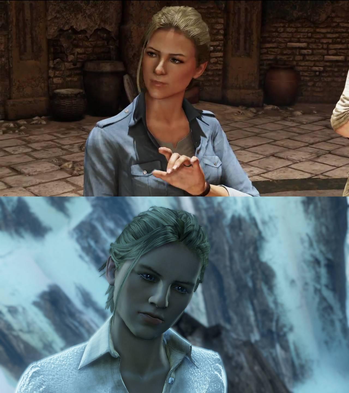 Uncharted 3 Chloe Hot Uncharted 4 PSX Panel:...