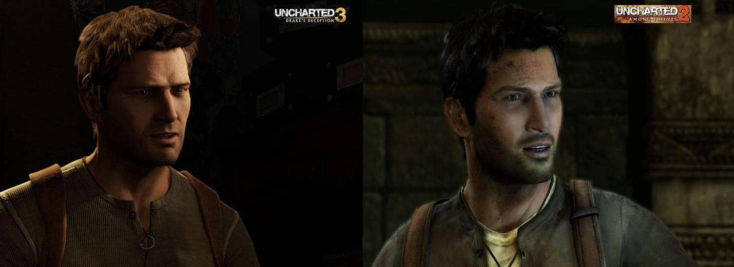 As you can see Uncharted 3 Uncharted 5