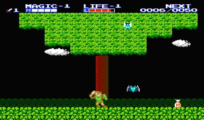 1987 - Zelda 2: The Adventure of Link