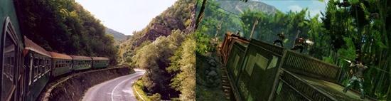 Поезда в непале и они же в игре