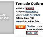 Kojima's new project, a multiplatform called Tornado Outbreak?