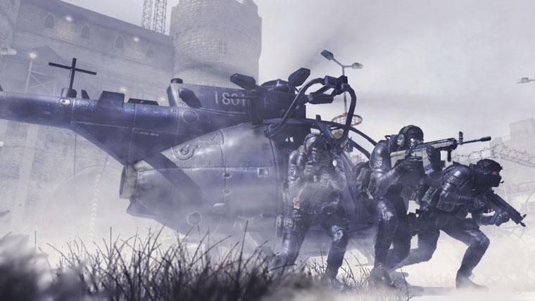 Modern Warfare 2 Heli