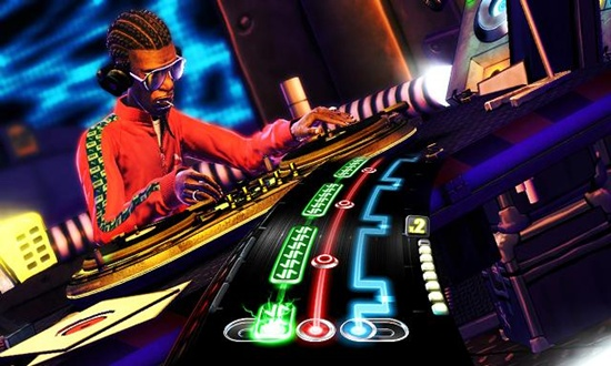 DJ Hero is much more stylish and much flashier than Guitar Hero.