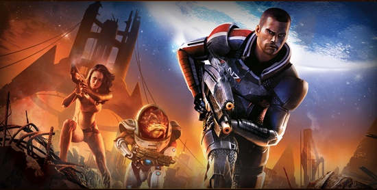 Mass Effect 2 might actually be a a much bigger and a better game than Halo Reach
