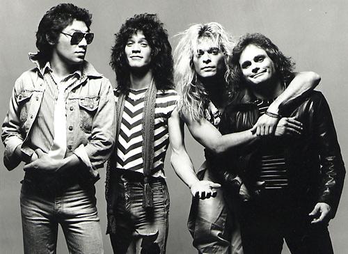 Origina line up Alex, Eddie, Dave & Michael