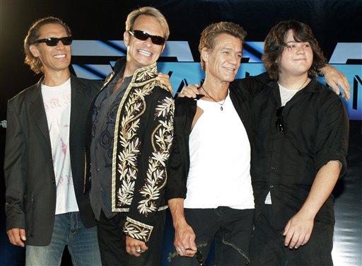 More recently, Alex, Dave, Eddie & Wolfgang