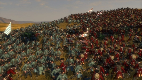 Empire Total War won easily.
