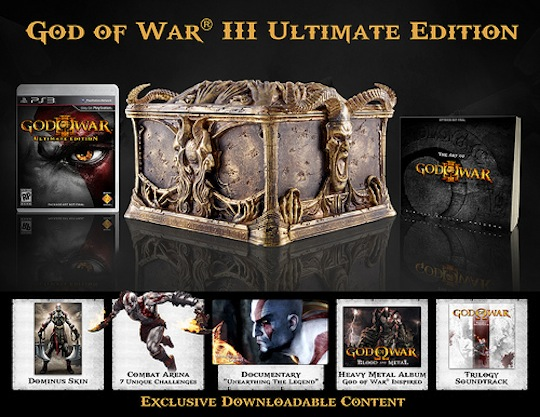 Here is the Pandora's Box that you will receive with the Ultimate Edition.