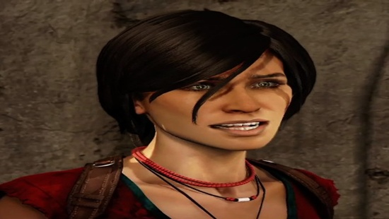 Chloe Frazer starred in Uncharted 2.