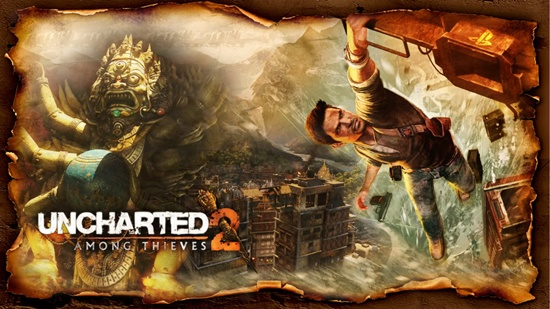 Uncharted 2, with all its glitz and glamourous Hollywood plot wost voted top in the polls.