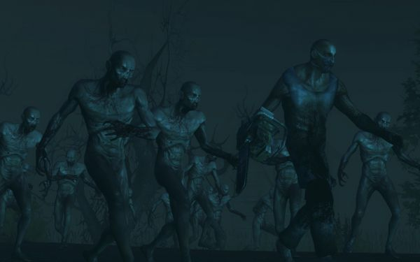 There are many zombies who want nothing more than to annihilate you.  Better get them before they get you.