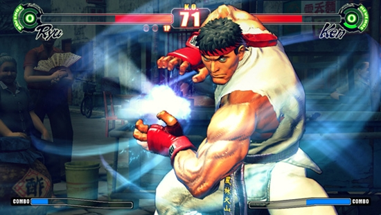 That's a KO for Street Fighter 4.
