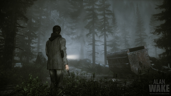 New Alan Wake trailer: Building the Thriller