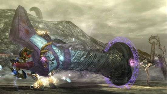 Sexy and sleek is how you define Bayonetta's moves