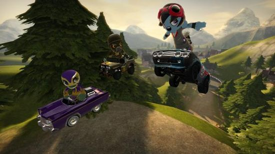 ModNation Racers goes the Portable way