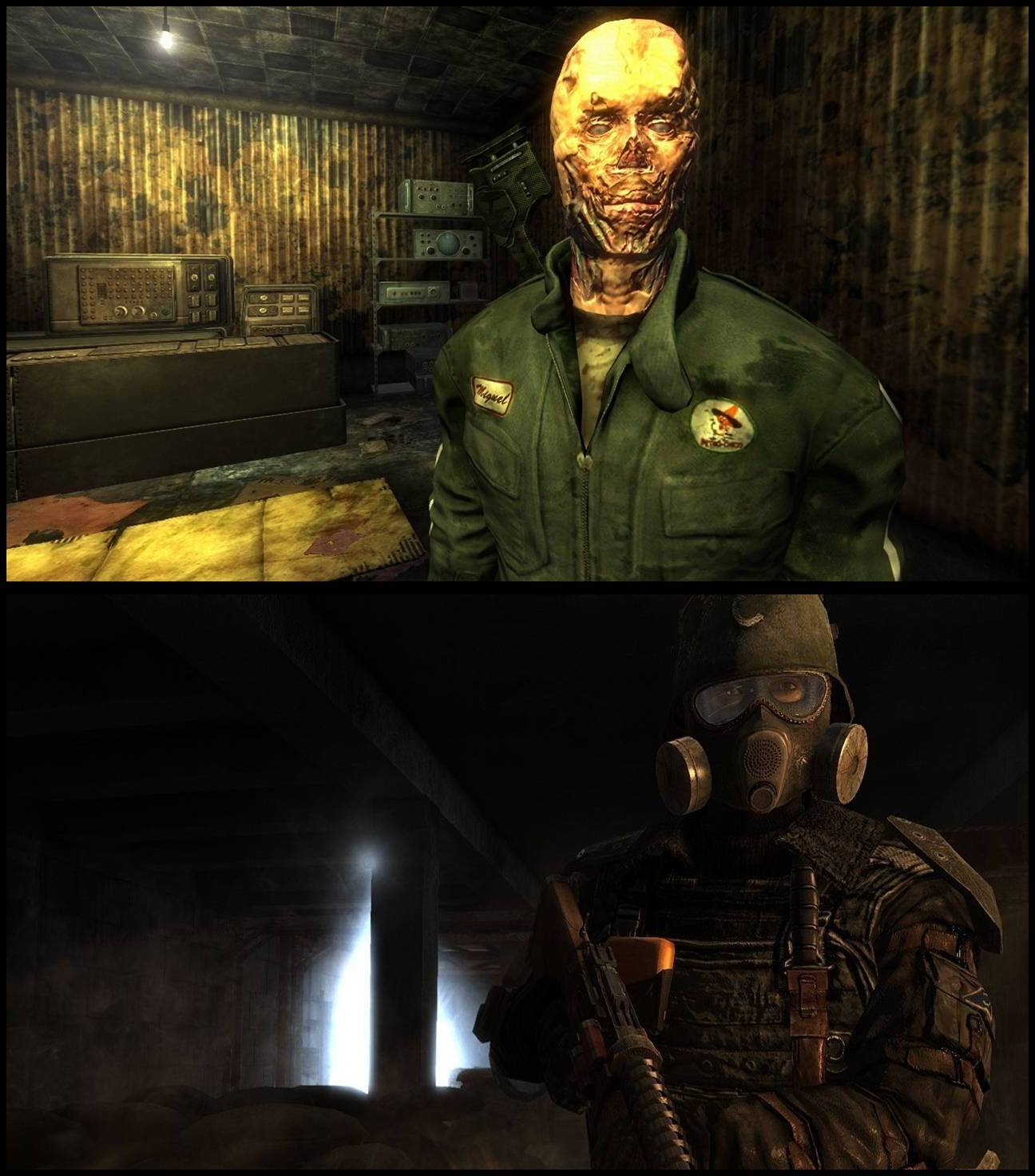 fallout: new vegas versus metro 2033: hd screenshot comparison
