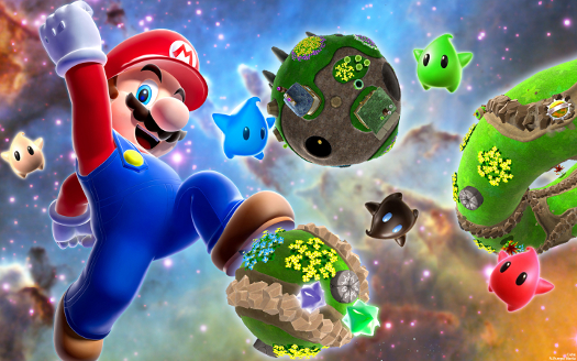 Super Mario Galaxy 2 Gameplay