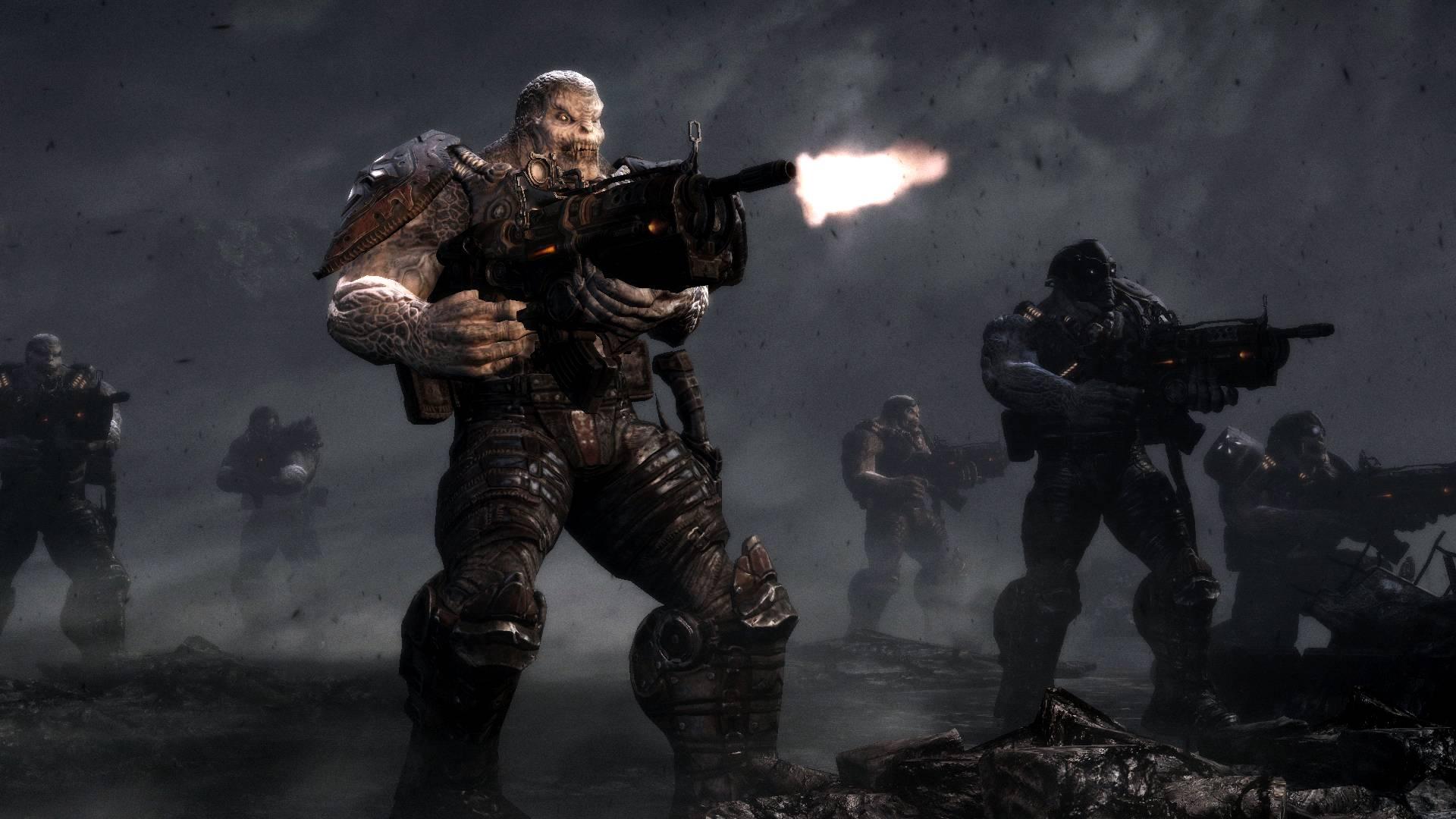 Gears Of War 3 Versus Gears Of War 2  HD Screenshot  Parison