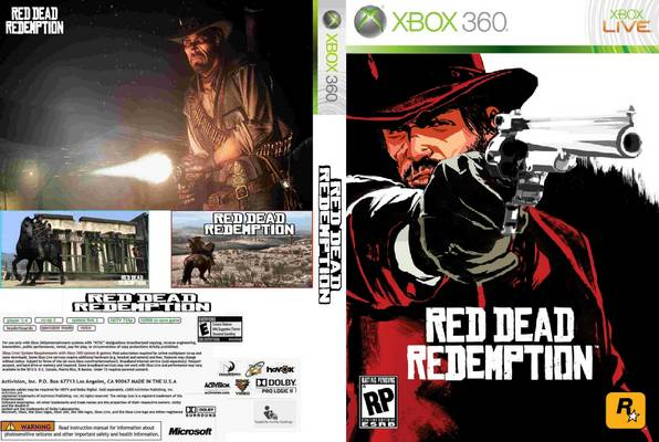 red dead redemption xbox360 cover