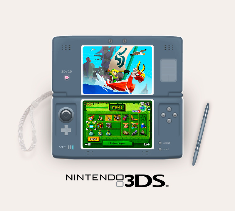 The Nintendo 3DS Mockup
