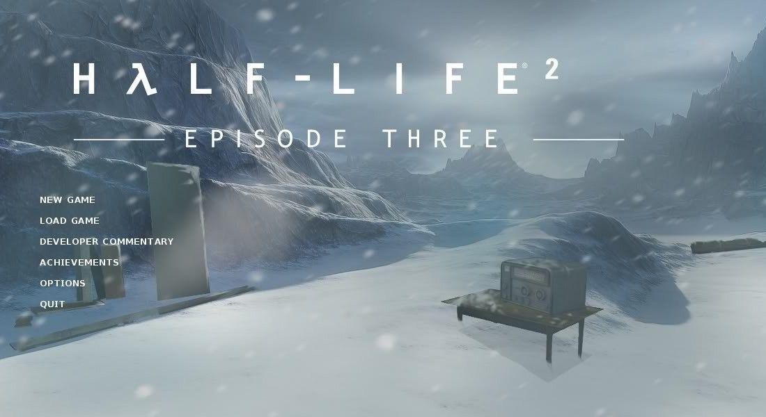 Screens Zimmer 7 angezeig: half life episode three