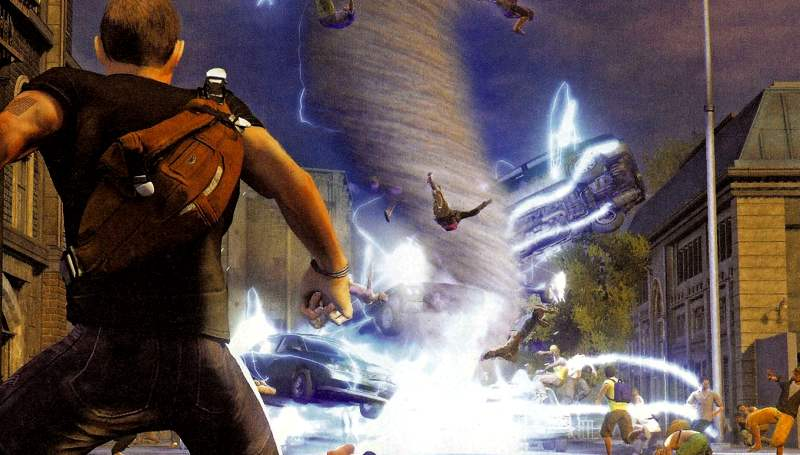 inFamous 2 Karma System Improved Almost Adding An RPG Element