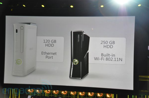 e3 2010 xbox 360 slim announced releases today. Black Bedroom Furniture Sets. Home Design Ideas