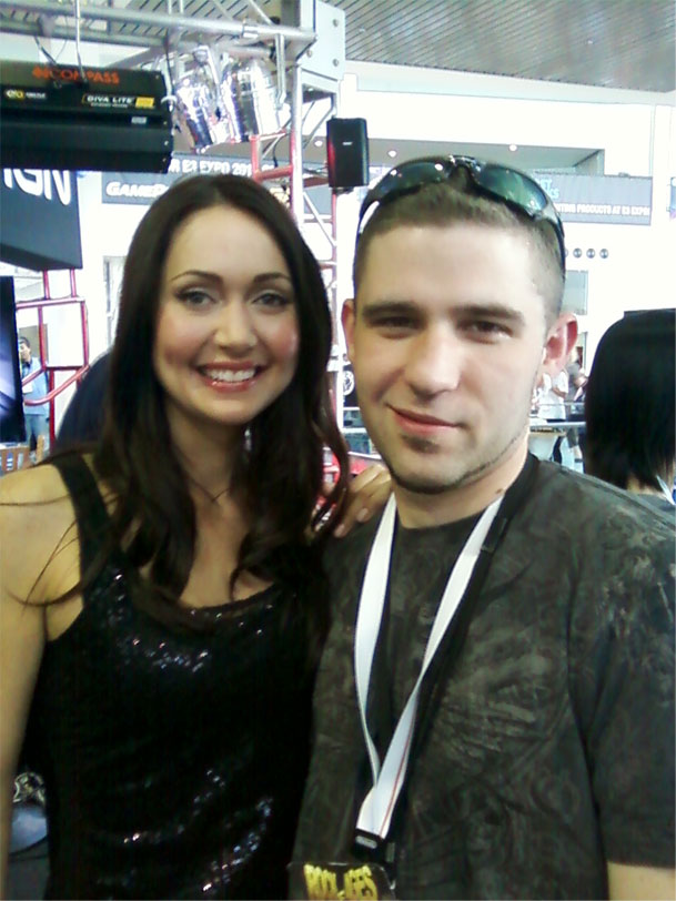 Jessica Chobot from IGN.com