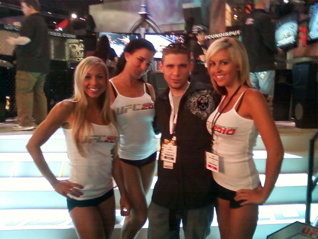 UFC Booth Babes