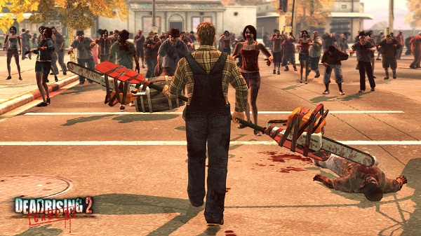Dead Rising 2: Case Zero - Paddlesaw Weapon