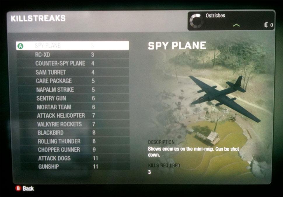 Plane Fighting Games >> Call of Duty: Black Ops Screen Grabs of Maps & Killstreaks