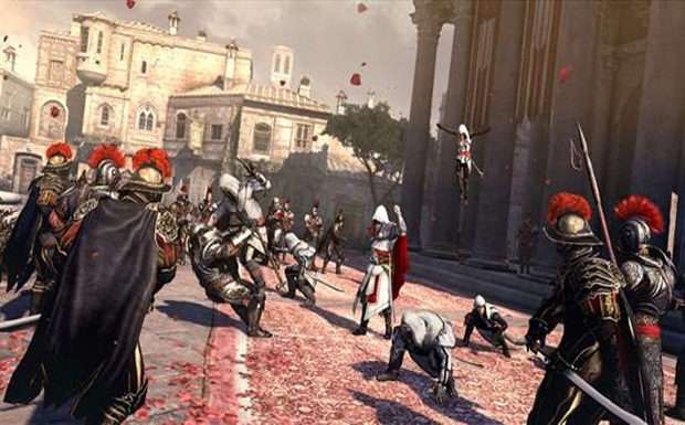 Assassin's Creed Brotherhood: Now with 500% more assassins