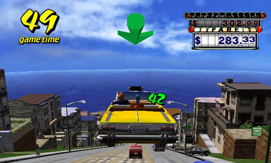 Crazy taxi online screenshots