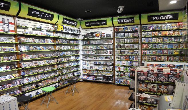 at games shop