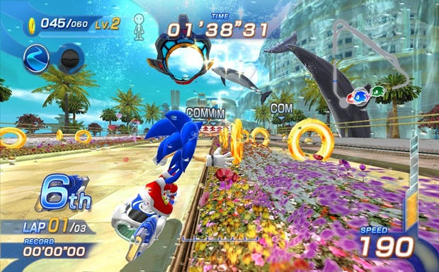 Sonic-Free-Riders-Screens-ring grab