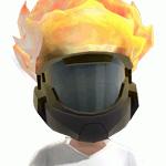 Halo Reach Flaming Avatar Helmet Offer