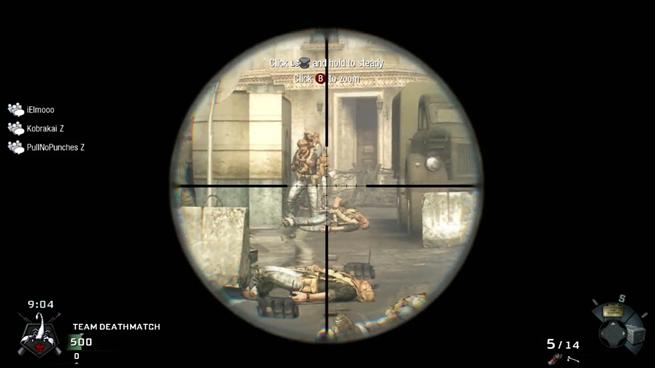 6 Kills 1 Sniper Bullet!
