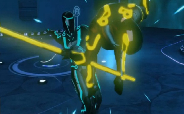 Excellent combat (at least at first) dispell any misgivings one miht have had about Tron.